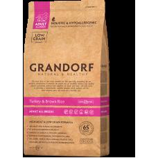 Grandorf Dog Turkey & Brown Rice All Breeds