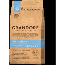 Grandorf Dog White Fish & Rice All Breeds