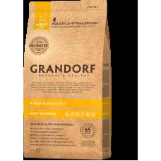 Grandorf Dog Mini 4 вида мяса с бурым рисом