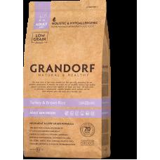 Grandorf Dog Turkey & Brown Rice Mini