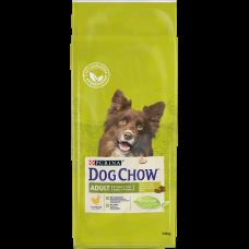 Dog Chow для взрослых собак, с курицей
