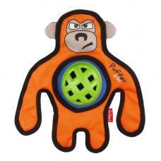 """Игрушка для собак GiGwi """"Обезьяна"""" с пищалкой (75534)"""