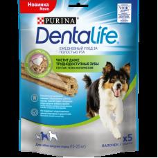 Purina DentaLife Лакомство для собак средних пород