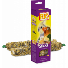 RIO. Палочки для средних попугаев с медом и орехами 2х40 гр.