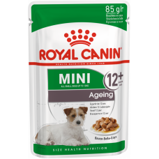 Royal Canin, MINI AGEING 12+, КОРМ ДЛЯ СОБАК, СТАРШЕ 12 ЛЕТ, 85 гр.