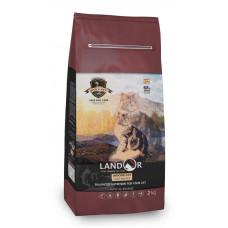 LANDOR, INDOOR CAT - для кошек, живущих в помещении утка с рисом