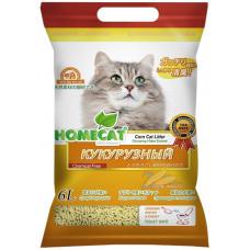 "Homecat ""Эколайн. Кукурузный"", комкующийся, 6 л"