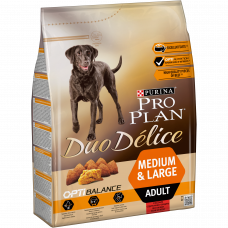 Pro Plan Dog Adult Duo Delice Beef