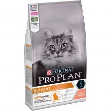 Pro Plan Elegant Adult для взрослых кошек с чувствительной кожей с Лососем